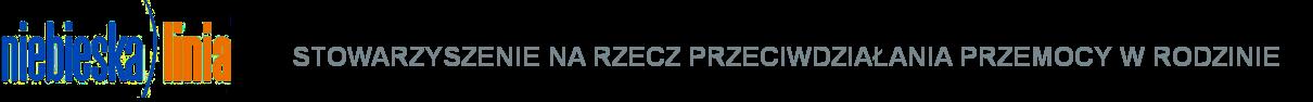 logo stowarzyszenia niebieska linia